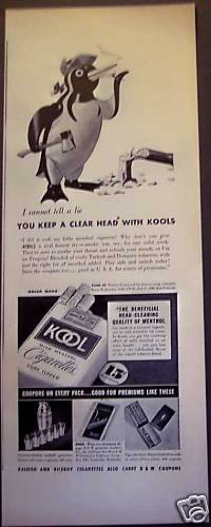 Kool Cigarettes Smoking Penguin (1938)