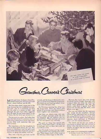 New York Life Christmas – Grandma Carver's (1952)