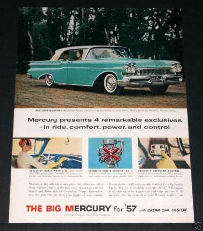Mercury Monterey Phaeton Sedan (1957)