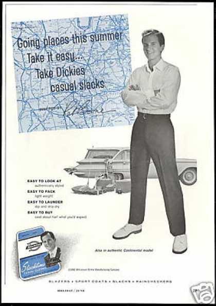 Pat Boone Photo Dickies Fashion Vintage (1960)