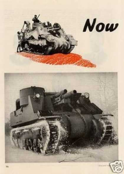 Wwii American Locomotive 2 Page Ad Tank (1943)