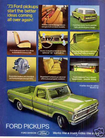 Ford Pickup Truck (1973)