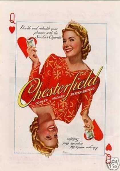 Chesterfield Cigarettes (1940)