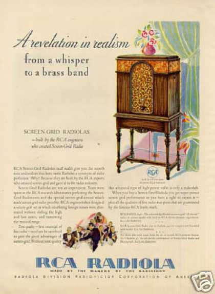 Rca Radiola Radio Color (1930)