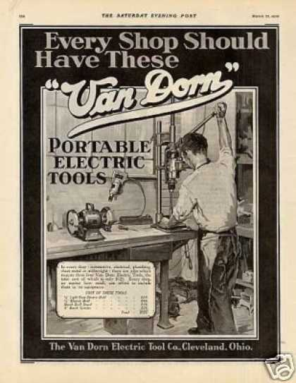 Van Dorn Portable Electric Tools (1930)