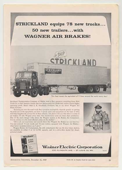Strickland Transport Truck Wagner Air Brakes (1959)