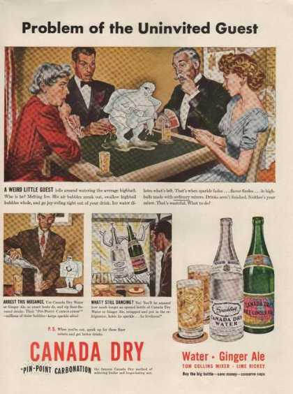Canada Dry Pin Point Carbonatio (1942)