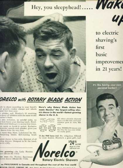 Norelco Rotary Electric Shaver C (1958)