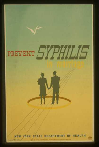 Prevent syphilis in marriage / M. Lewis Jacobs(?). (1936)