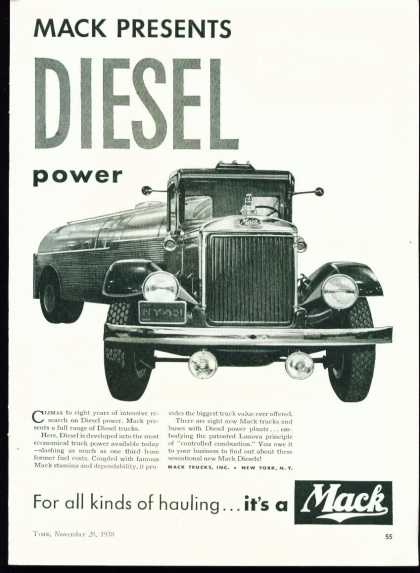 Mack Presents Diesel Power Mack Trucks (1938)