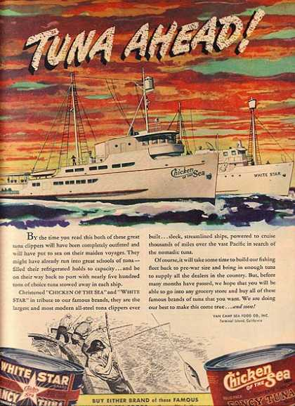 Stokely – Van Camp's Chicken of the Sea (1945)