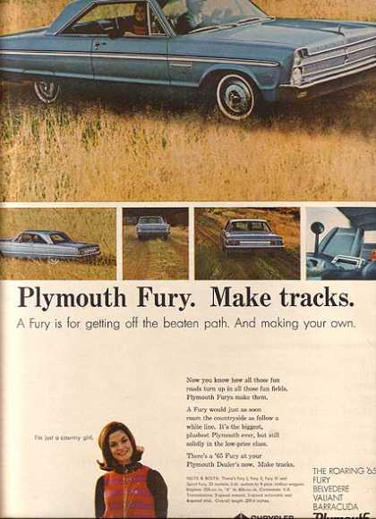 Chrysler's Plymouth (1965)