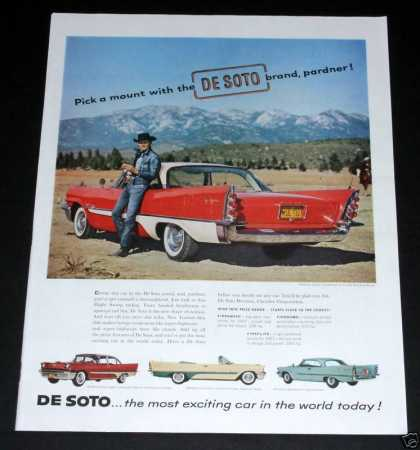 Desoto, Most Exciting Car (1957)