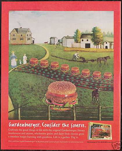 Garden Burger Consider The Source Farm (1996)