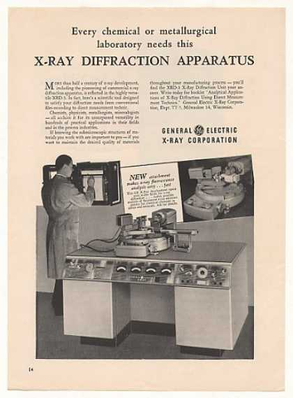 '51 General Electric XRD-3 X-Ray Diffraction Machine (1951)