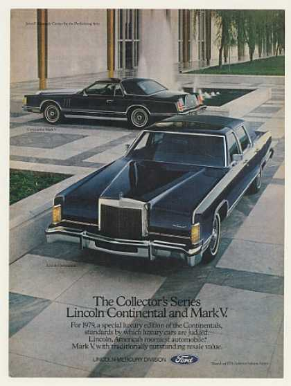 Collector's Series Lincoln Continental & Mark V (1979)