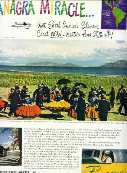 Pan American Grace Airways Lake Titicaca C (1950)