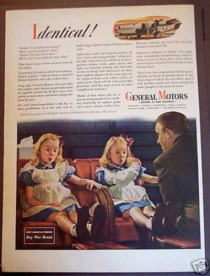 General Motors Military Weapons Twin Girls (1944)