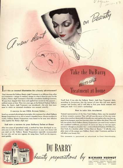 Richard Hudnut's Beauty-Angle – A new slant on Beauty (1937)