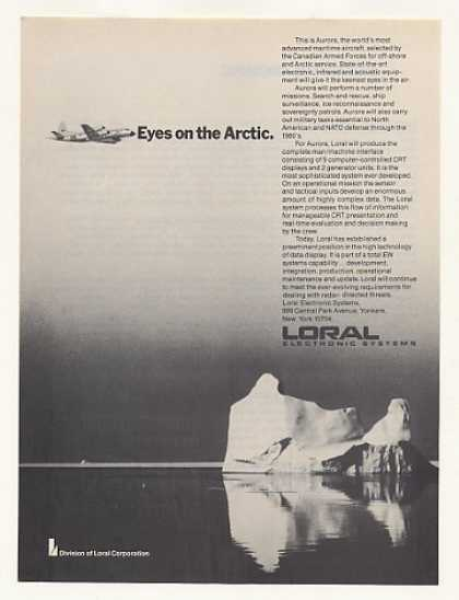 Canadian Armed Forces Aurora Aircraft Loral (1977)