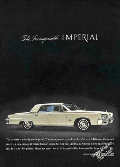 """The Incomparable Imperial"" Collectible (1964)"