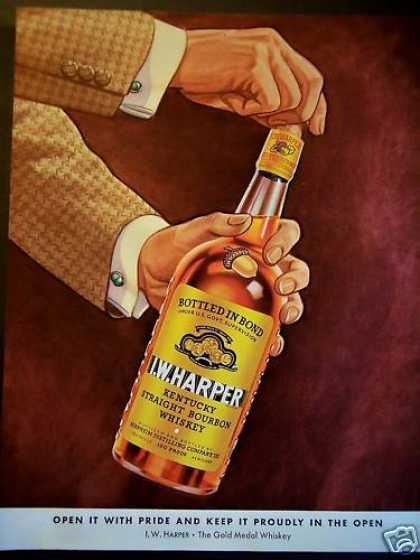 I. W. Harper Whiskey Gold Medal Whiskey (1940)