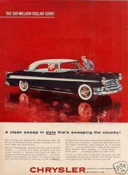 Chrysler New Yorker Deluxe Newport Car (1955)