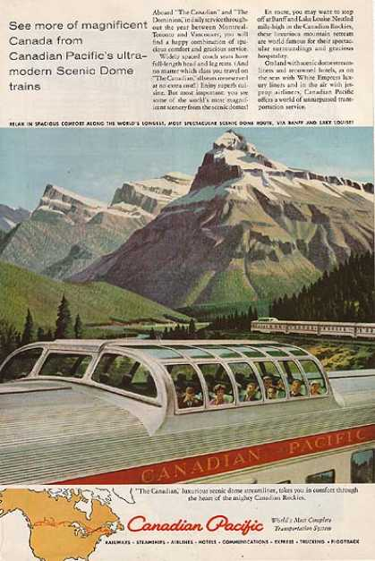 Canadian Pacific's The Canadian (1959)