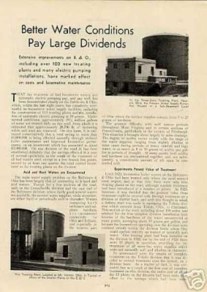 """Better Water Conditions Pay Large Dividends"" B&o (1932)"