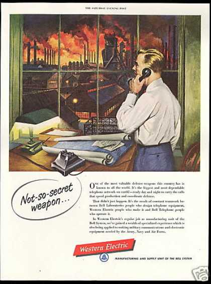Western Electric Telephone Defense Weapon Kurka (1952)