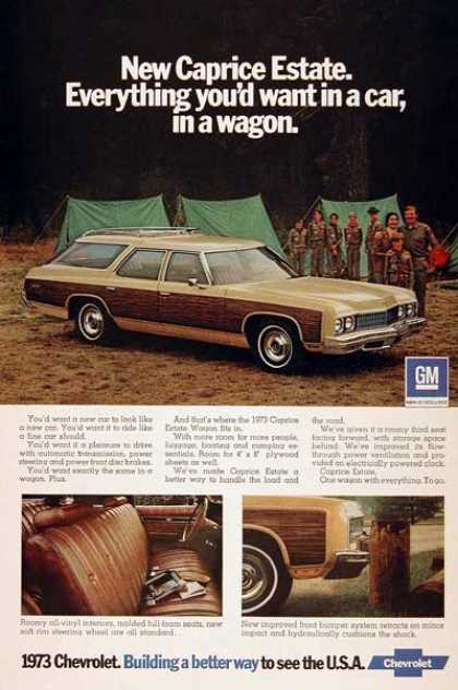 Chevrolet Caprice Station Wagon (1973)