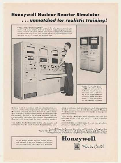 Honeywell Nuclear Reactor Simulator (1959)