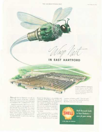 Shell Pratt & Whitney Aircraft Wasp Nest (1952)