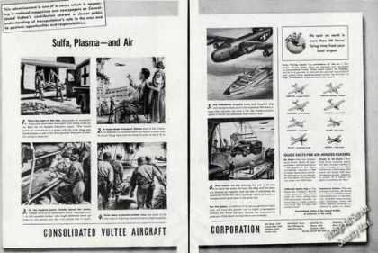 Consolidated Vultee Aircraft Wwii Planes (1944)