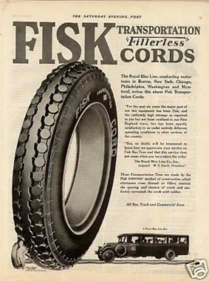 Fisk Tire (1925)