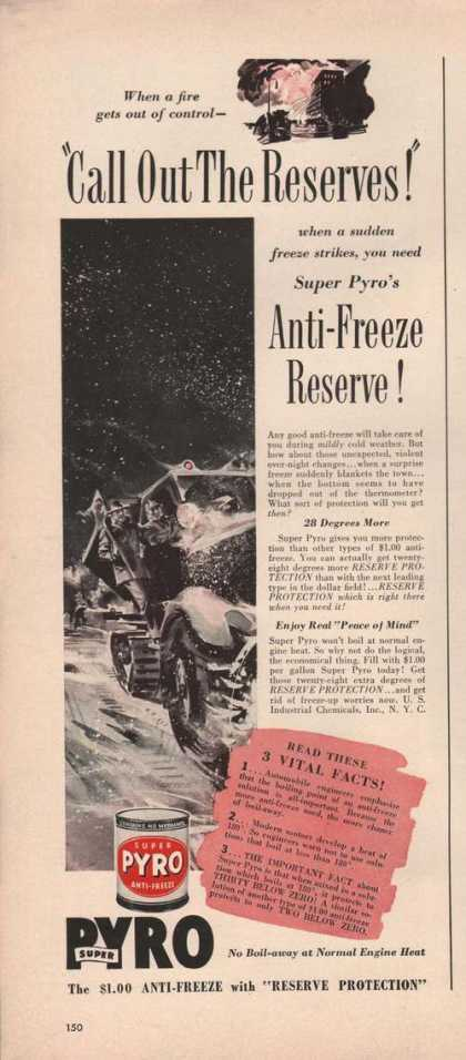 Call Out the Reserves Pyro Anti Freeze (1941)