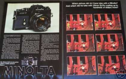 Minolta Xe-7 Camera Photographer Art Kane (1977)