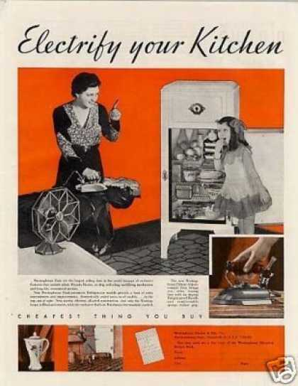 Westinghouse Appliances Ad 2 Page (1932)