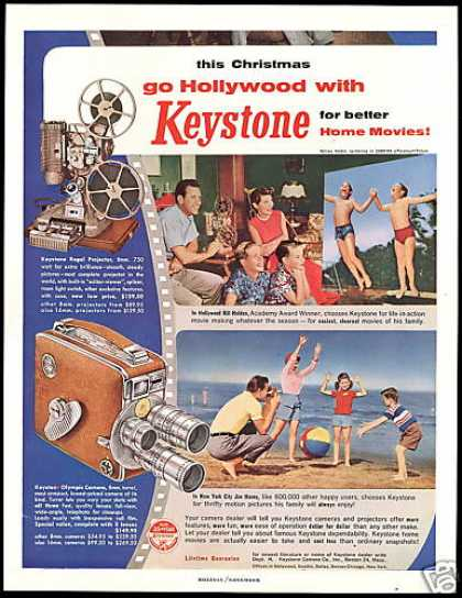 Keystone Movie Camera William Bill Holden (1954)