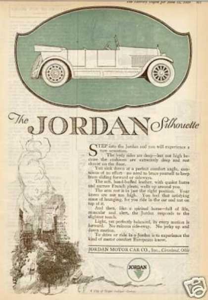 Jordan Silhouette Car Color (1920)
