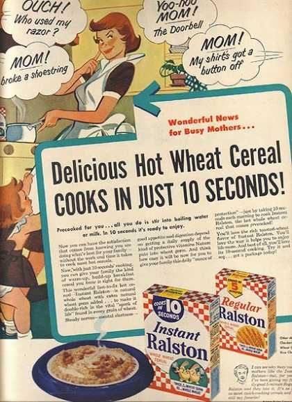 Ralston's Hot Wheat Cereal (1940)