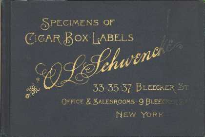 Unknown's Various cigar brands – Specimens of Cigar Box Labels
