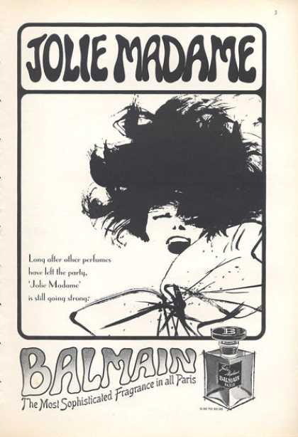Jolie Madame Balmain Paris Fragrance (1966)