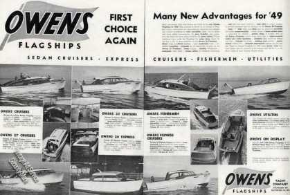 Owens Flagships Boat Photos (14) (1949)