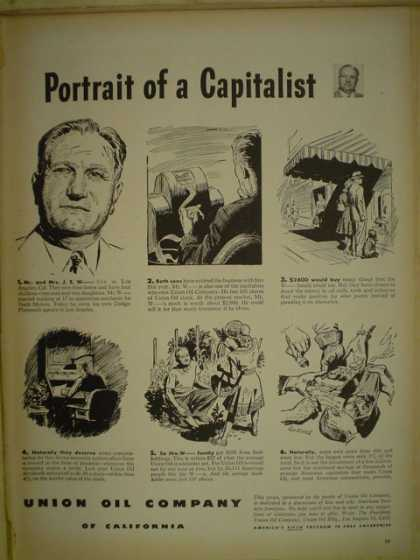 Union Oil Company. Portrait of a Capitalist. (1946)