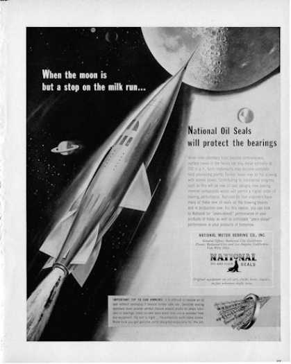 National Motor Bearing Co. Rocket To Moon (1950)
