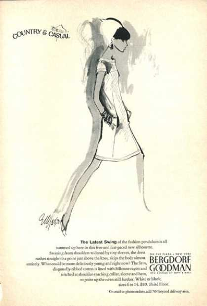 Bergdorf Goodman Fashion Dress (1966)