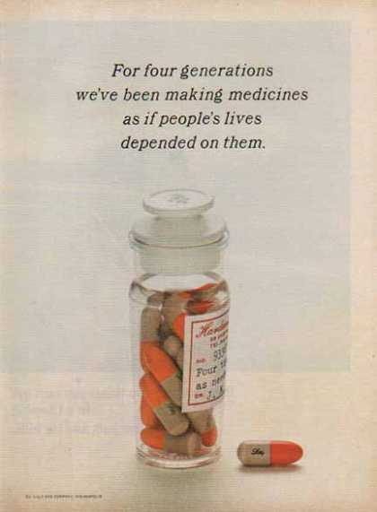 Eli Lilly Pharmaceutical – Four Generations (1966)
