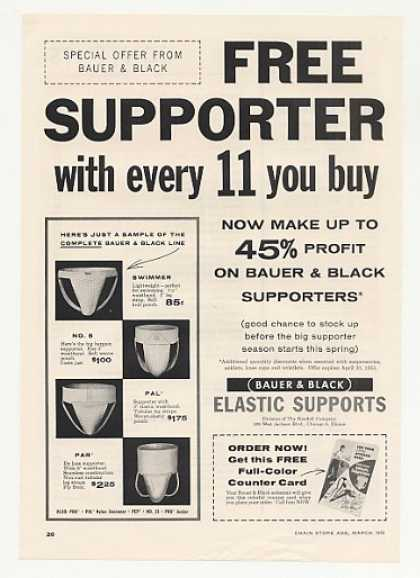 Bauer & Black Elastic Supporters (1955)