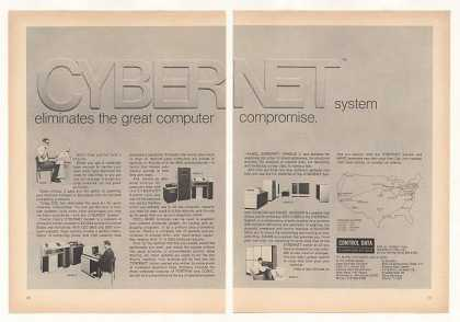 Control Data Cybernet MARC Computer Terminal 2P (1970)